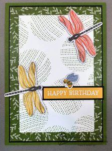 Stampin' Up! Dandy Garden Birthday Card 1