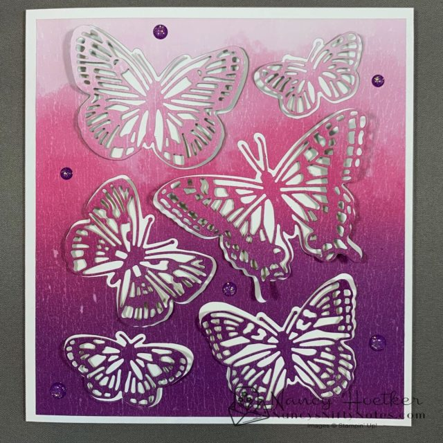 First Play with Butterfly Brilliance by Stampin' Up! 6