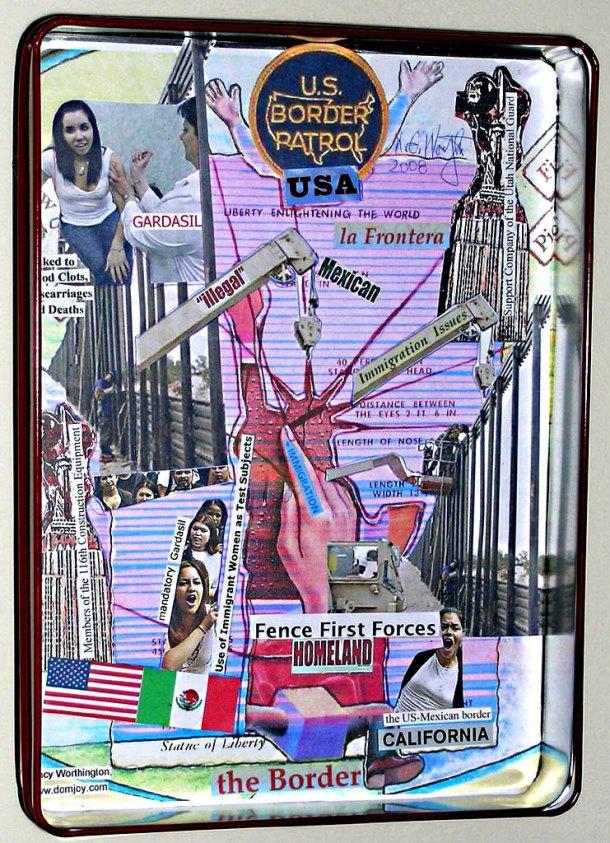 La Frontera- The Border Detail 2