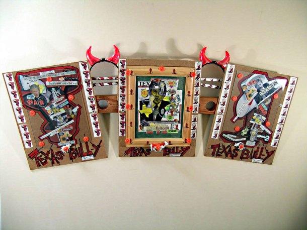 Texas Bull-y Triptych