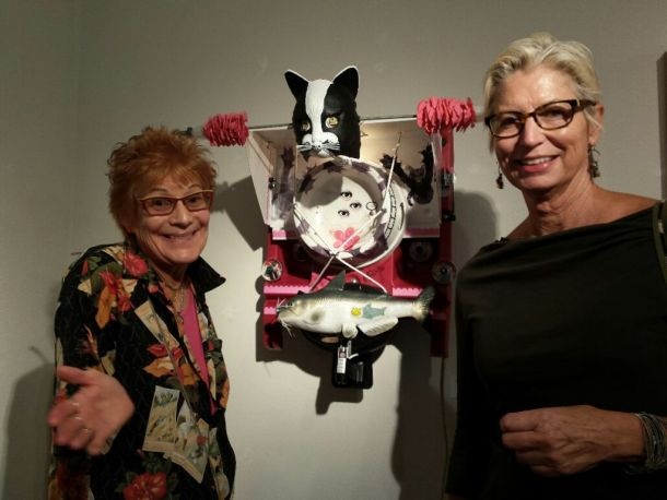 Nancy Worthington and Palm Springs Art Director Liz Armstrong