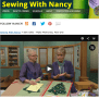Sew Gifts Make Memories With Nancy Zieman And Guest Mary