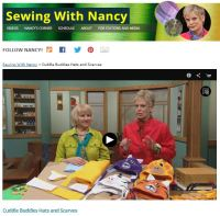 Sew Adorable Animal Fleece Hats and Scarves by Nancy ...