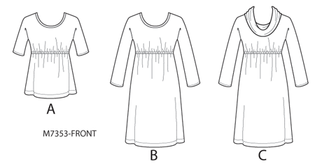 Make a Knit Top or Dress by Designer Nancy Zieman and