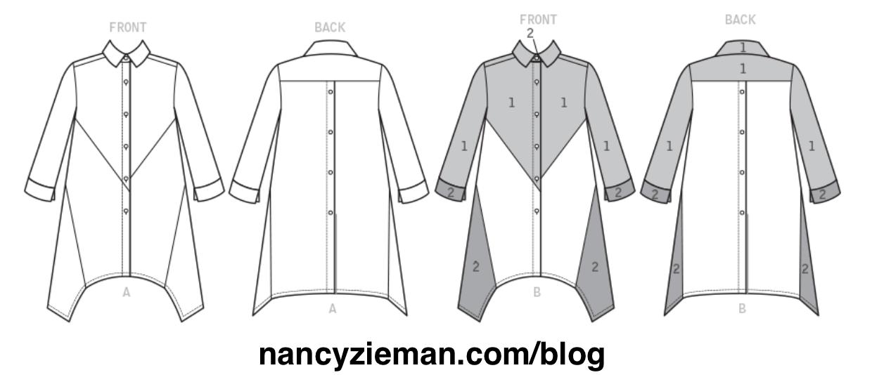 Nancy Zieman's New McCall's M7751 Stylish Shirts Pattern