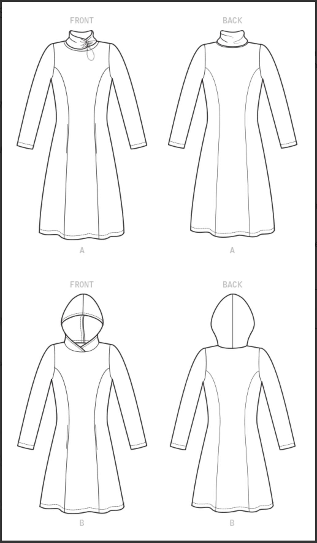 New! McCall's M8022 Dress Pattern and Tunic Pattern by