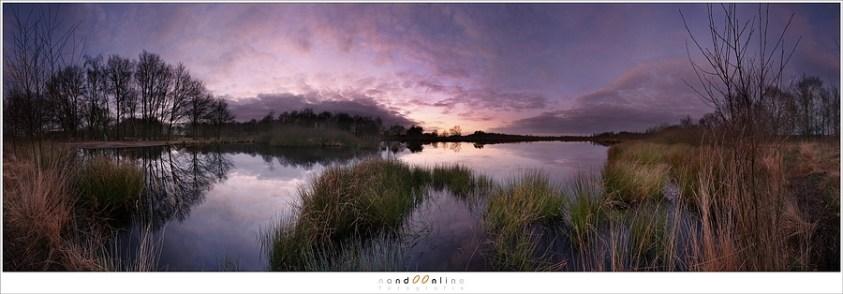 De start van mijn eigen blog - met een foto van het Meerbaansblaak in de Groote Peel