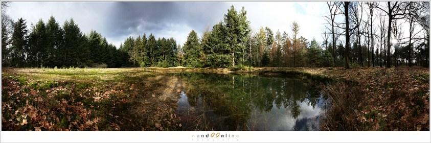 Een panorama foto van 8 foto's op 17mm brandpunt