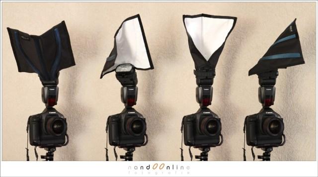 fotografie met een reportage flitser