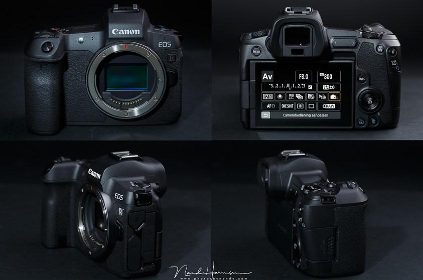 De canon eos r, de eerste fullframe mirrorless camera van Canon