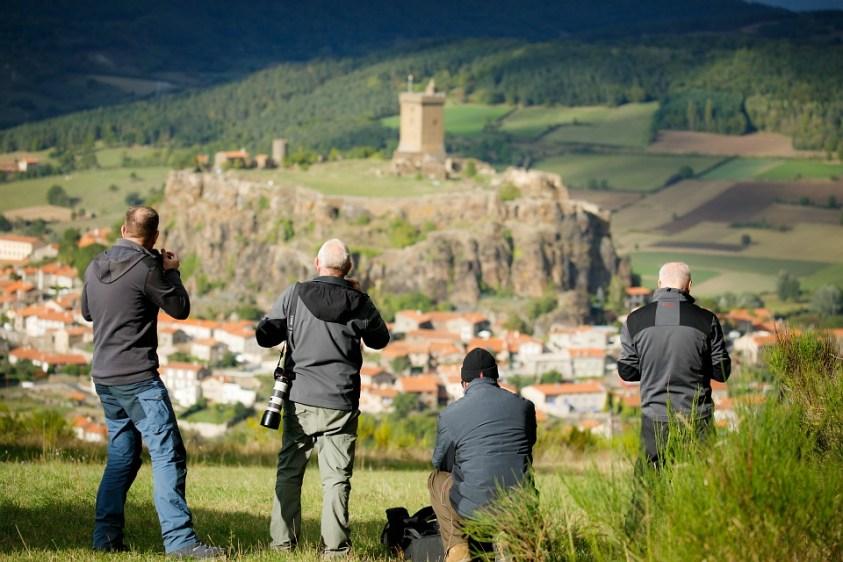 Bekende plekken bezoeken - fotograferen in de Auvergne