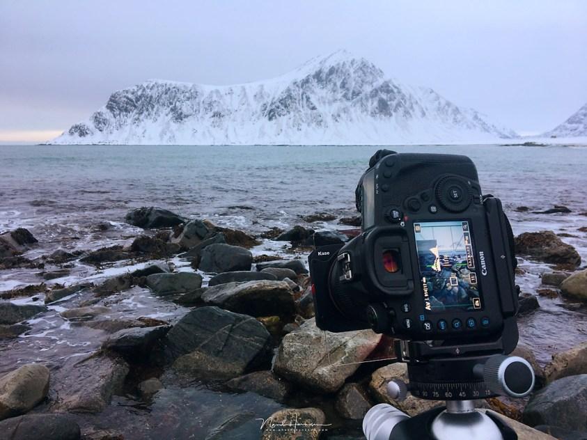 Het eerste echte gebruik in de praktijk, tijdens mijn fotoreis Winter op Lofoten.