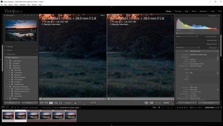 In dit tweede voorbeeld is de afname van ruis nog beter te zien, maar de details van de foto zijn niet verloren. Dit is met een reguliere ruis reductie niet te bereiken. Probeer het zelf maar eens uit.