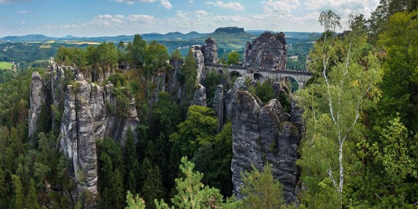 Vakantie in de Sächsische Schweiz