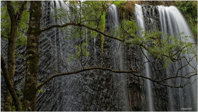 Cascade de la Beaume door Werner Hax