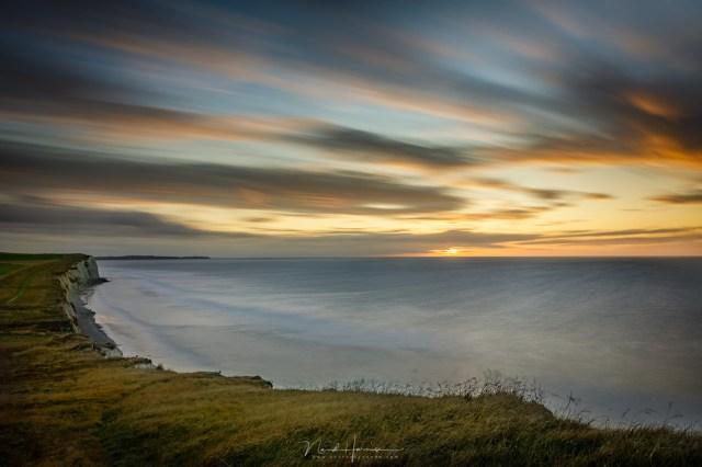 Zonsondergang bij Cap Blanc Nez