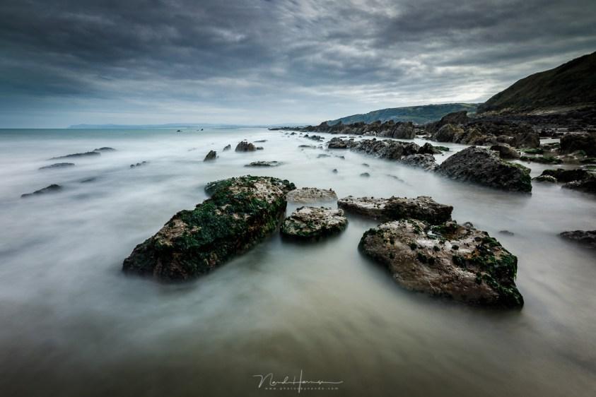 Het strand van Cap Gris Nez bij eb