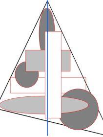 compositieleer; een driehoekscompositie