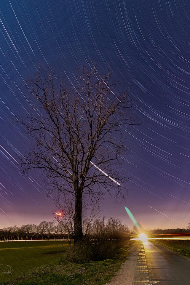 De mooiste sterrensporen van de afgelopen weken door Roy Raymakers