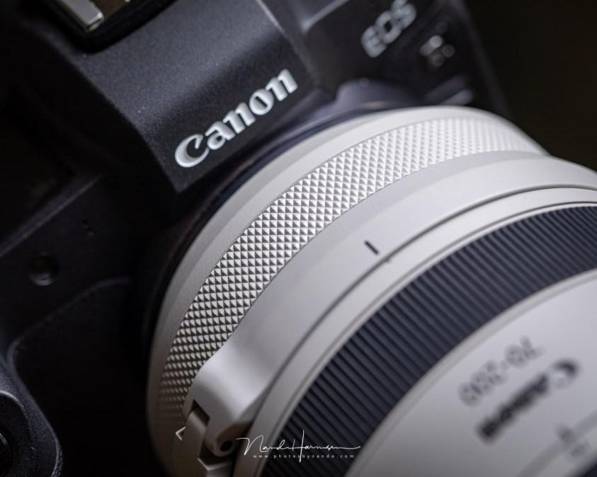 Review van de Canon RF70-200mm en de control ring van de lens