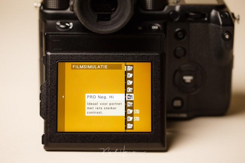 De film simulatie functies van de Fujifilm GFX 50 s