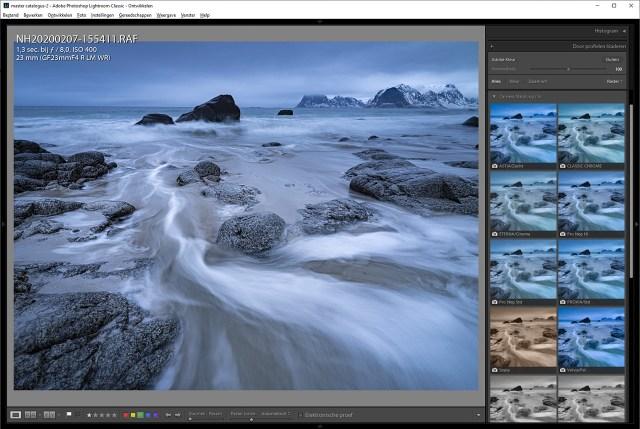 Je kunt de beeldstijlen van je camera ook in Lightroom kiezen als je in RAW fotografeert.