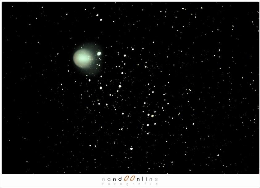 Komeet 17P/Holmes in 2007