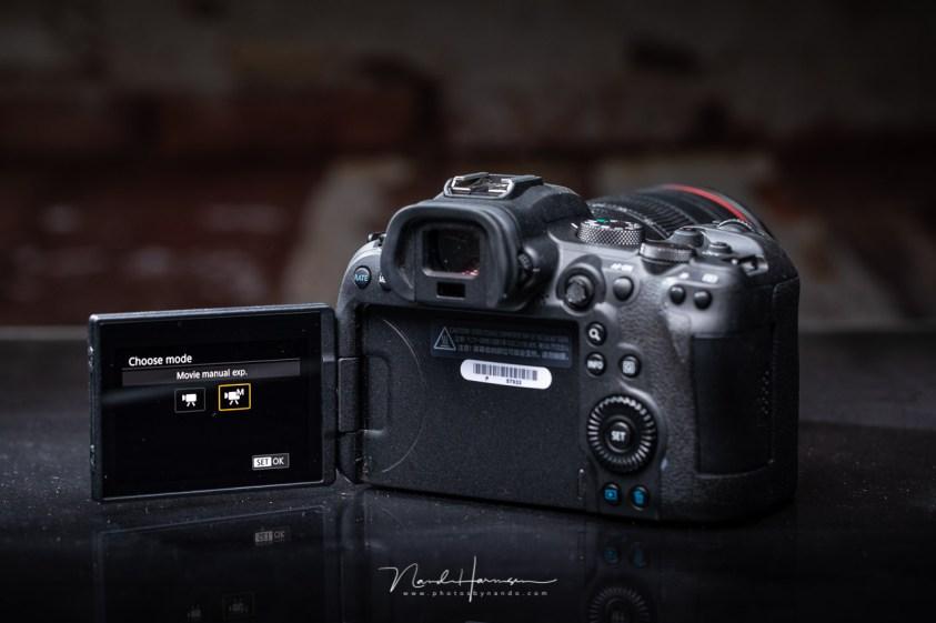 Film functies van de Canon EOS R6 komen ook aan bod