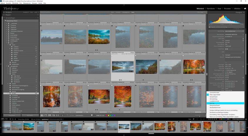 Vlaggen van foto's is een van de 10 tips om orde te scheppen in je Lightroom classic catalogus