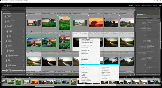 Foto's stapelen is een van de 10 tips om orde te scheppen in je Lightroom classic catalogus