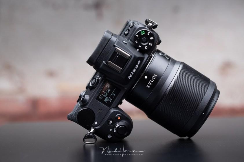 Nikon Z6 II voor de gothic fotosessie in de thuis studio
