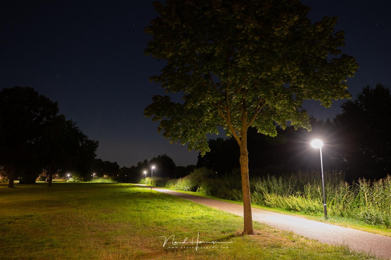 LED verlichting met filter