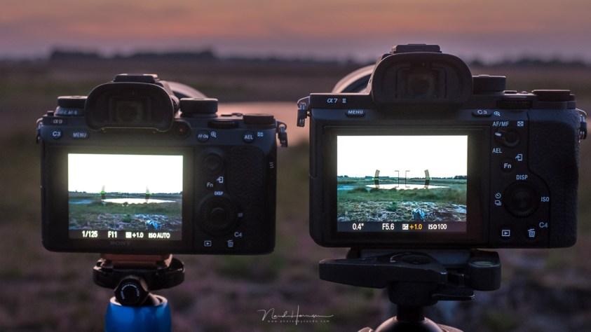 Sony camera's met handmatige belichting