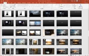 Webinar en presentatie licht vangen