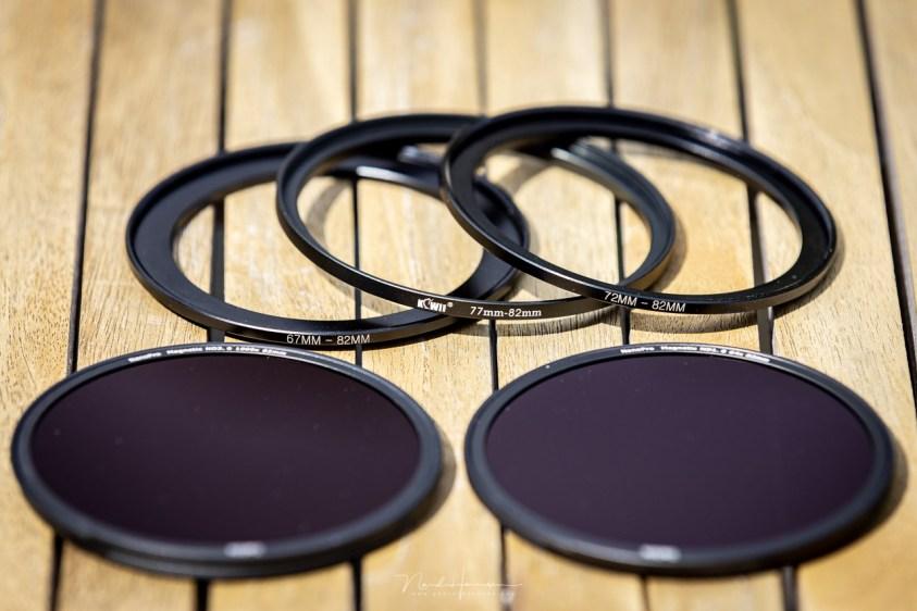 Step-up ringen zijn perfect te gebruiken