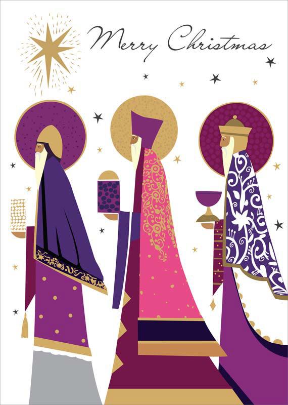 Tracks Publishing Ltd Three Kings Christmas Card