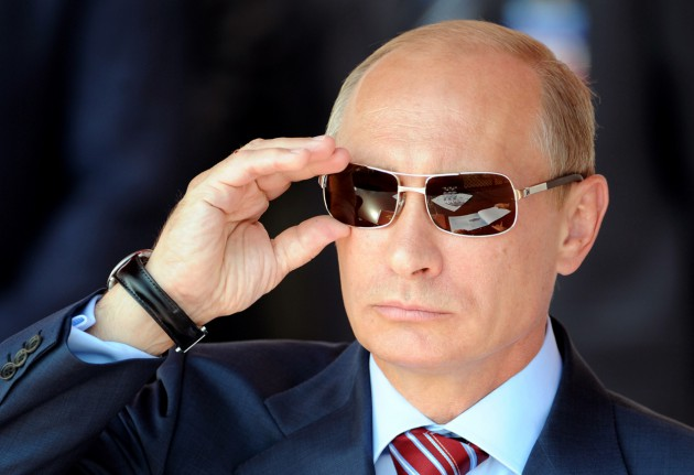 Vladimir Putin Photo: The Herald