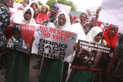 Women protest in Nigeria