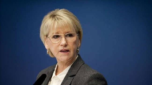 Swedish Foreign Minister Margot Wallström
