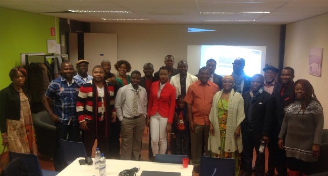 EFLA members who attended the conference in Holland