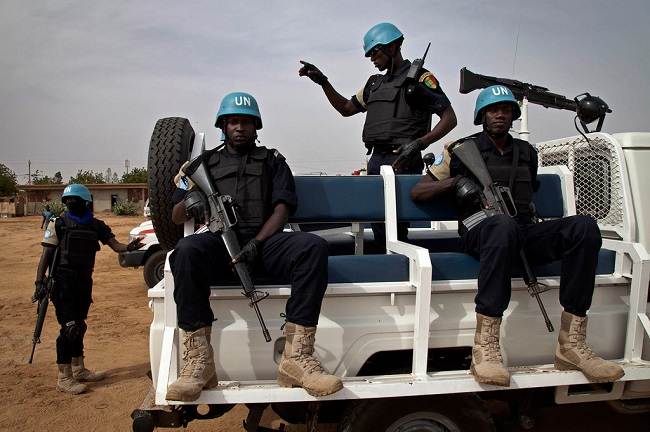 UN peacekeepers in Mali