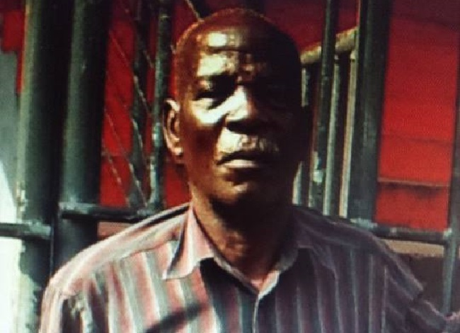 Liberian footballing legend Josiah N Johnson. As national coach, he guided the nation to its first and only international football trophy in 1979