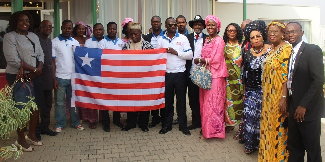 Some members of the Liberian community in Abuja