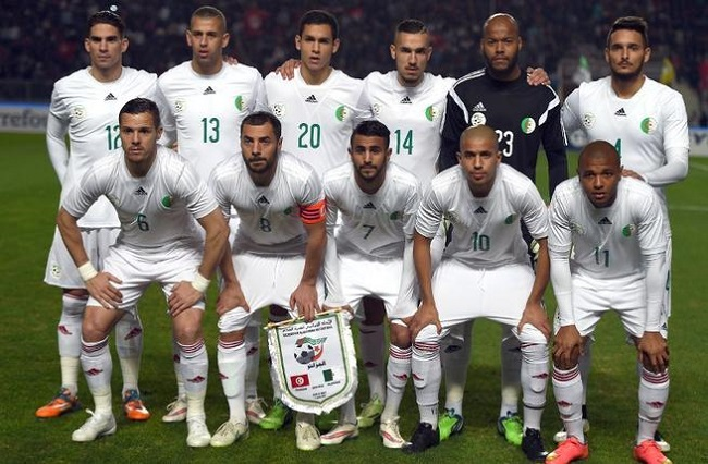 Algeria national football team Photo: albawaba.com