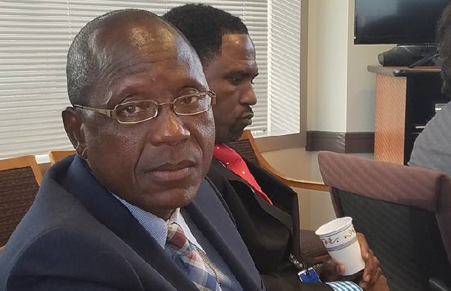 Moses D. Sandy heads the Association of Liberian Journalists in the Americas