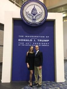 New Albany at inauguration
