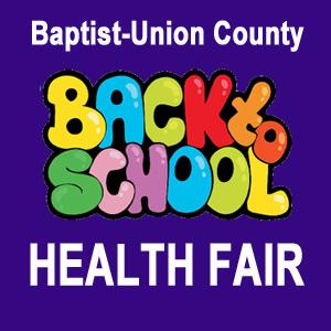 Back to school health fair