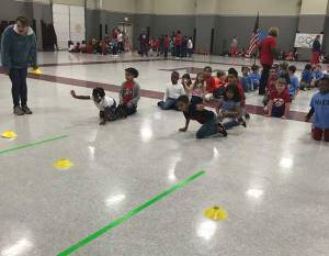 NAES celebrates winter olympics
