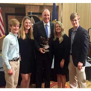 Congressman Trent Kelly award