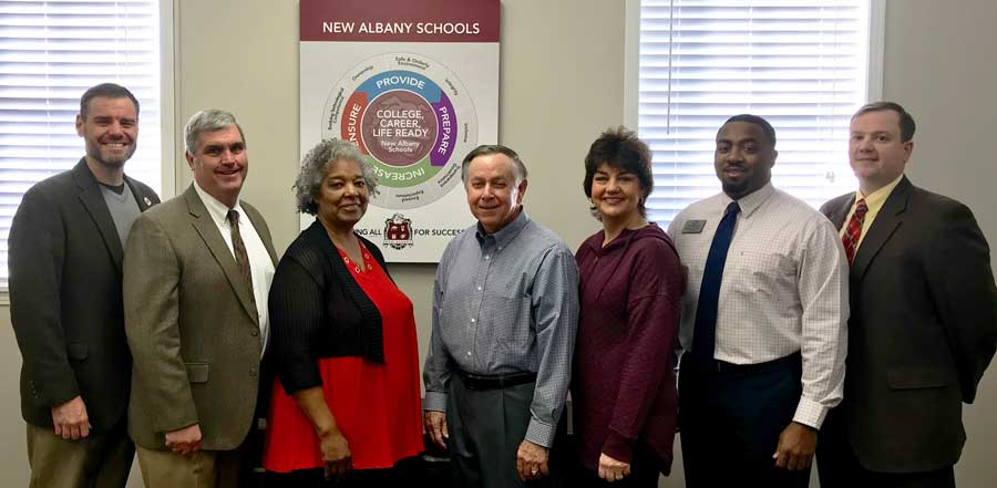 New Albany schools support club